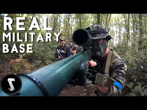 REAL MILITARY BASE SNIPER! - L96 AWP Sniper Airsoft