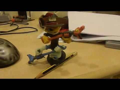 Skylanders Swap Force figure mashup: Amphisbaena Rattle Shake