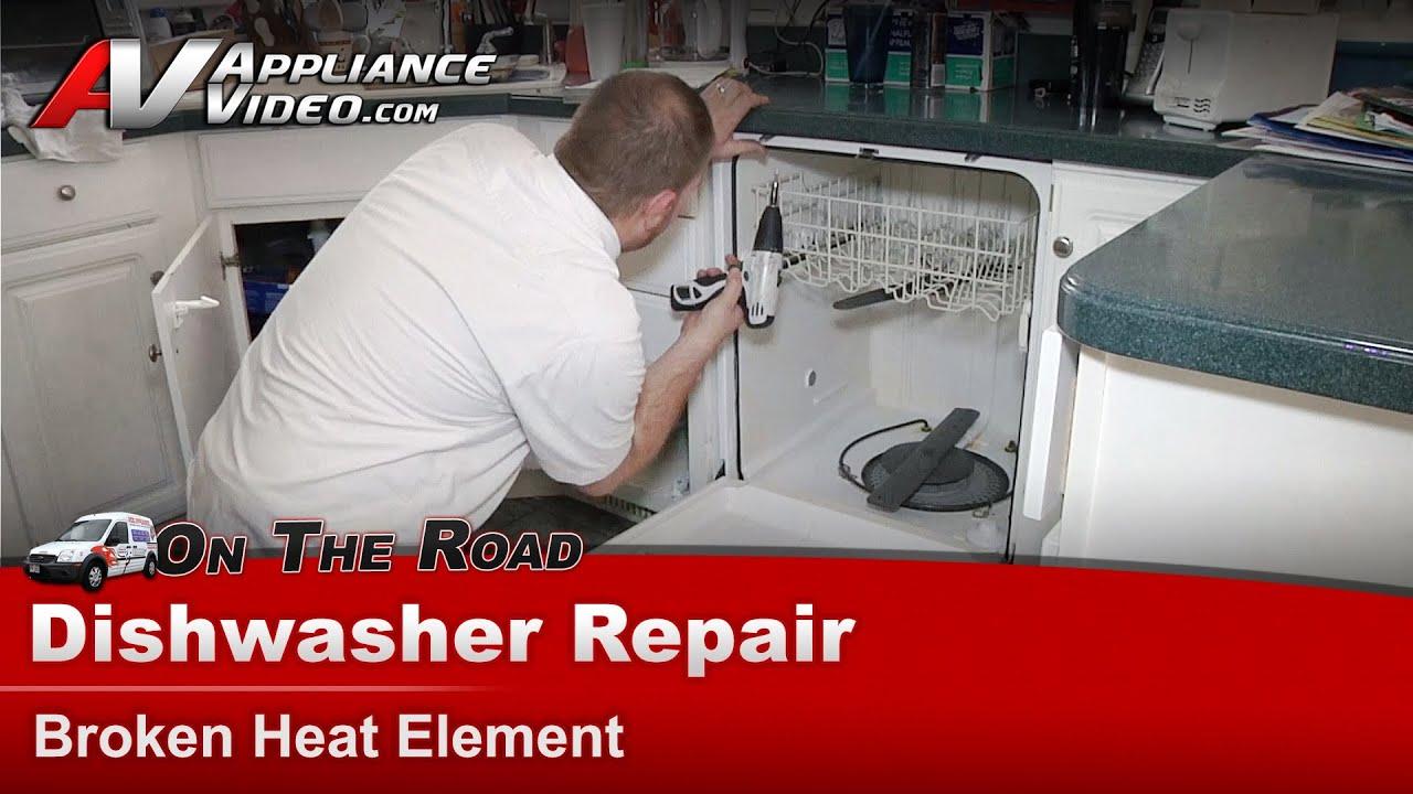 Maytag Dishwasher Repair Broken heat element MDB4409PAB0