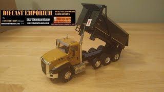 Diecast Masters Caterpillar CT660 Dump Trucks Unboxing & Review