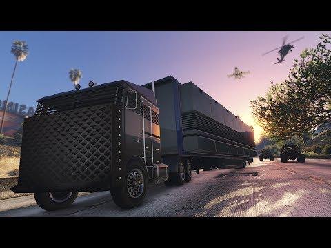 GTA Online: Haciendo Misiones del Bunker & Centro de Operaciones Móvil - DLC Tráfico de Armas