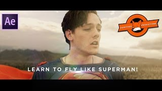 Best Superman Landing Effects  - After Effects Tutorial Videos