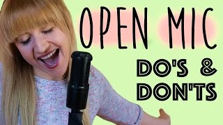 Open Mic Night Tips For Beginners!