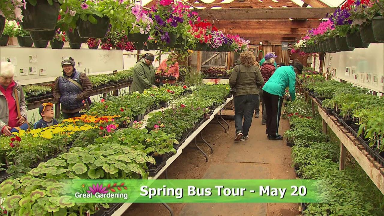 Promo - Great Gardening Spring Bus Tour - YouTube