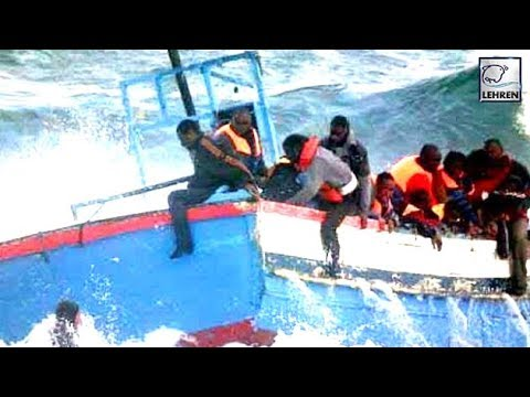 Romanian Police SAVES A Boat Carrying 70 SYRIAN And IRAQI IMMIGRANTS | Lehren News