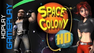 Space Colony HD - Gameplay PC | HD