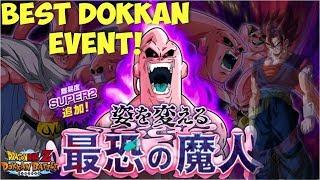 THIS IS WHAT DOKKAN EVENTS SHOULD BE! Majin Buu Super 2 Boss Event: DBZ Dokkan Battle
