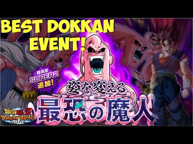 THIS IS WHAT DOKKAN EVENTS SHOULD BE! Majin Buu Super 2 Boss Event: DBZ Dokkan Battle