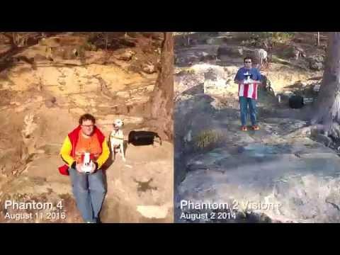 2 years apart - Phantom 4 Vs Phantom 2 Vision+ / Seventeen Mile Rocks