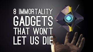 8 Immortality Gadgets That Keep Us Alive No Matter How Hard We Die