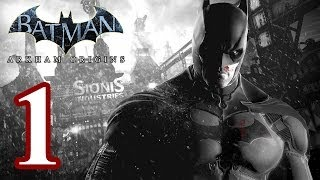 Batman: Arkham Origins Walkthrough PART 1 [PS3] Lets Play Gameplay TRUE-HD QUALITY