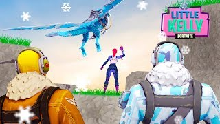 LITTLE KELLY SAYS GOODBYE - RAPTOR AND FROSTBITE BECOME BEST FRIENDS AGAIN - Fortnite Short Film