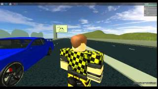 Roblox driving an Nissan Skyline