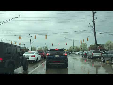 Driving to Sterling Heights, Michigan from Macomb, Michigan