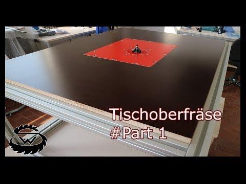 Tischoberfräse Selber Bauen // Router Table DIY #Part 1