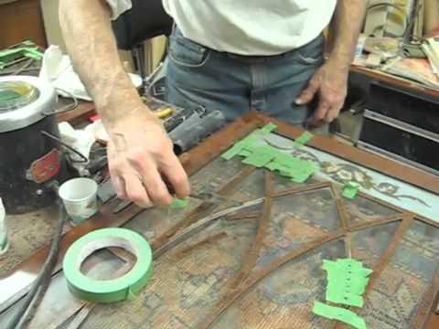 Restoring an Antique Secretary - Part 1 of 4 - Thomas Johnson Antique Furniture Restoration