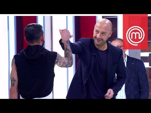 Il rap di Joe Bastianich (che piace a Nesli) | Celebrity MasterChef Italia