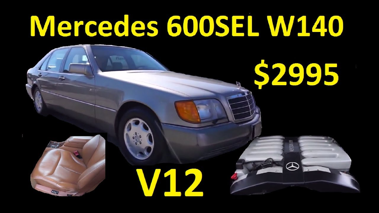maxresdefault a dose of vitamin v12 ~ s600 mercedes benz w140 for sale $2995  at panicattacktreatment.co