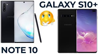 Samsung Galaxy Note 10 vs S10 Plus. Кто же лучший?!😏