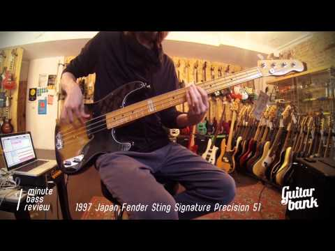 1997 Japan Fender Sting Signature Precision 51 — One Minute Bass Review