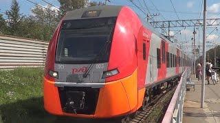 Электропоезда ЭС1-003 + ЭС1-028
