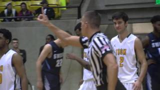 Tech Men's Basketball vs. Southwestern Oklahoma Highlights 1/28/16