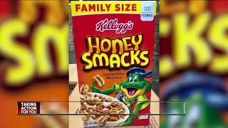 Recalled cereal remains on grocery shelves, FDA claims