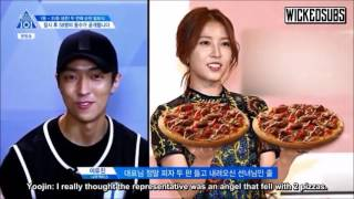 [ENG SUB] Produce 101 Season 2 Episode 8 - BoA Pizza Angel Cut