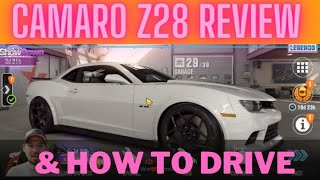CSR2, Chevrolet Camaro Z28 Shift Pattern And Review. How to drive