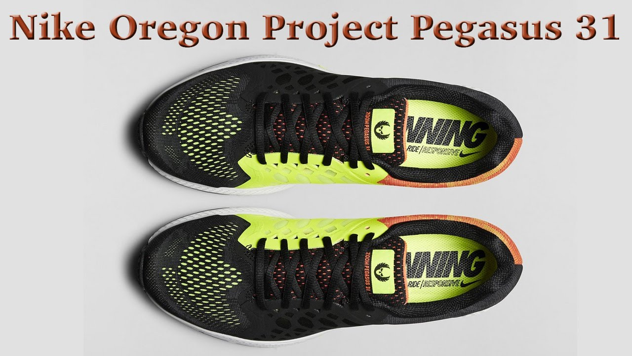 nike mens zoom pegasus 31 oregon project running shoes