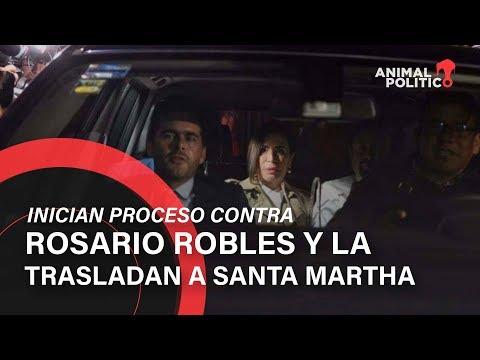La Estafa Maestra: Inician proceso contra Rosario Robles y la trasladan a Santa Martha