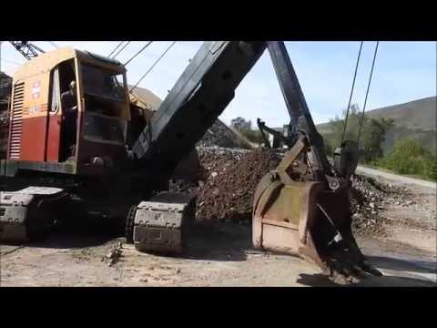 Vintage Excavator Trust at Threlkeld Quarry & Mining museum
