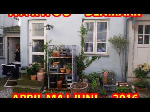 AARHUS CITY DENMARK IN SPRING 2016