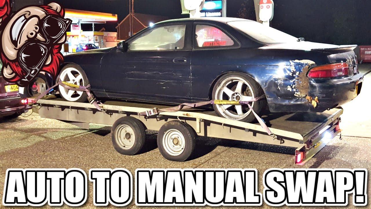 auto to manual transmission swap 1jz sc300 soarer youtube rh youtube com sc300 automatic to manual conversion 2Jz Swap