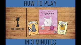 How to Play Cat Lady in 3 Minutes - The Rules Girl