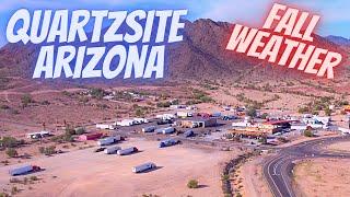 Desert Is Cooling D๐wn - Quartzsite AZ