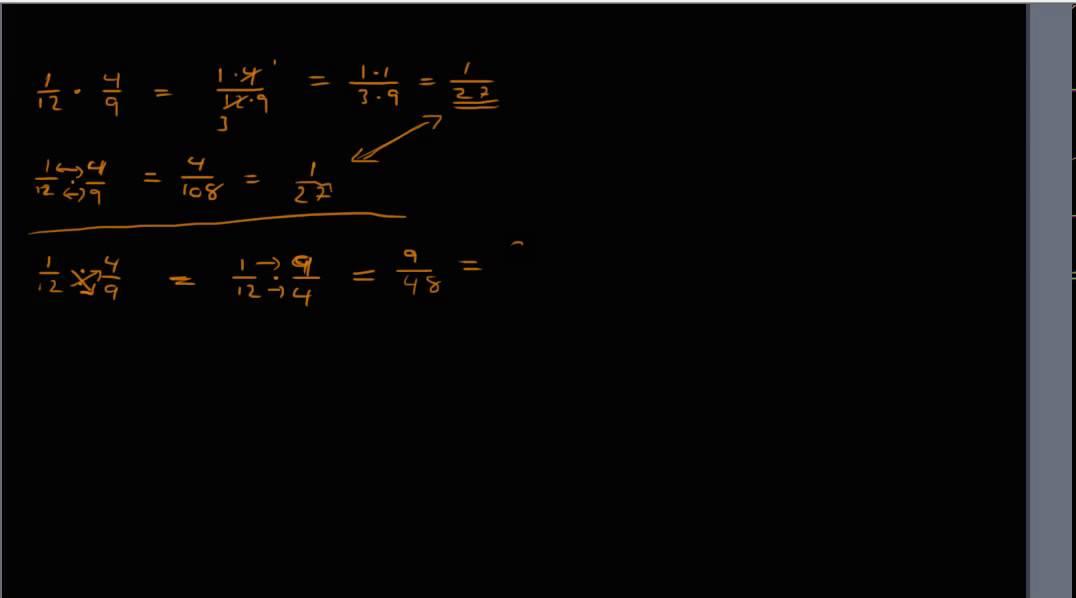 Brøkregning 2 - Multiplikasjon & Divisjon