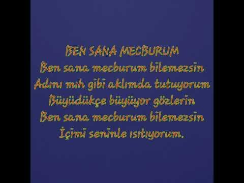 Ben Sana Mecburum Ask şiiri Atilla Ilhan Youtube