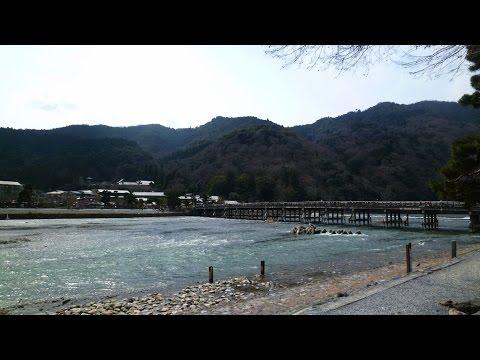 "Kyoto Japan. ""Arashiyama"" cycling. / Photo slide and movei / March 19 2017"