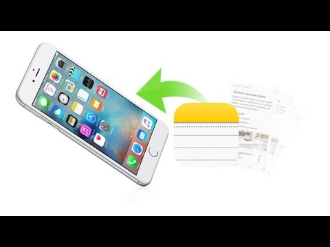 how to undelete notes on iphone how to recover deleted iphone notes 1650