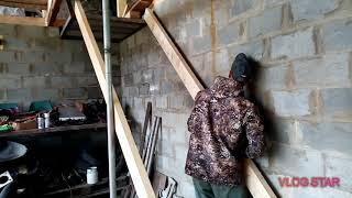 как сделать лестницу в гараже на второй этаж