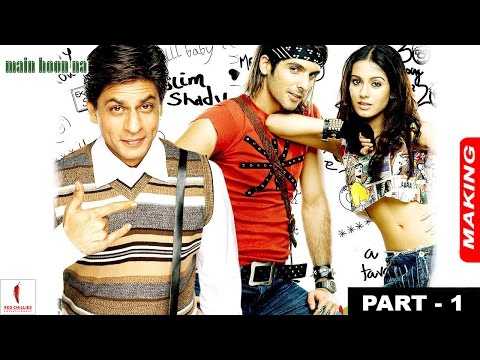 Main Hoon Na | Making | Title Song & Chale Jaise Hawayein |Shah Rukh Khan, Amrita Rao, Zayed Khan