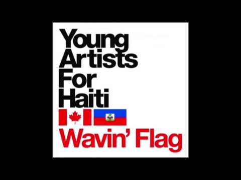 Young Artists For Haiti - Wavin' Flag
