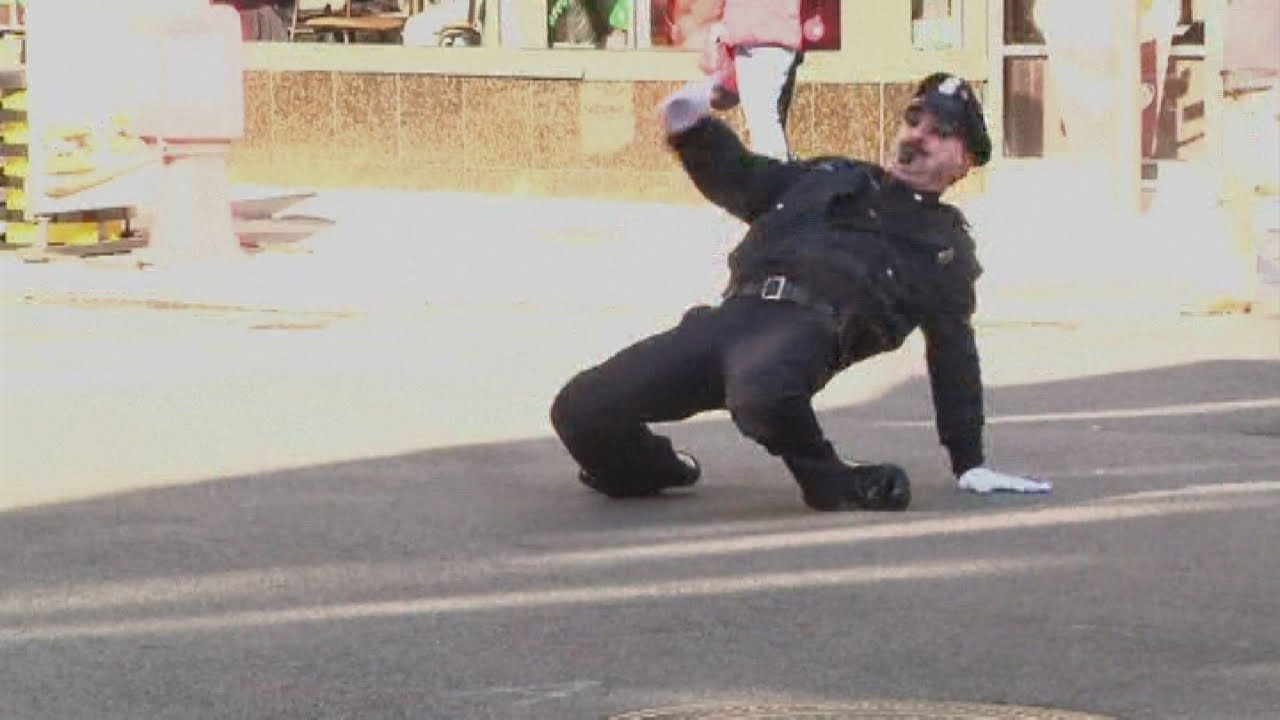 Dancing policeman: America's most entertaining traffic cop
