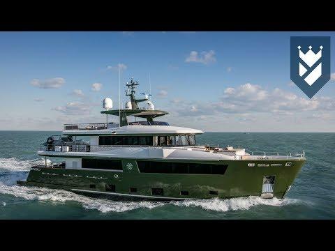 Cantiere delle Marche 111' Explorer Yacht Walk Through Video