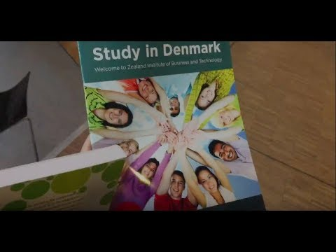 CAMPUS TOUR di Denmark | Zealand Institute of Business and Technology