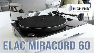 ELAC Miracord 60 Plattenspieler