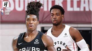 San Antonio Spurs vs Toronto Raptors - Full Game Highlights | July 8, 2019 NBA Summer League