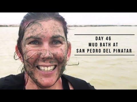 Day - 46 Mud bath at San Pedro del Pinatar