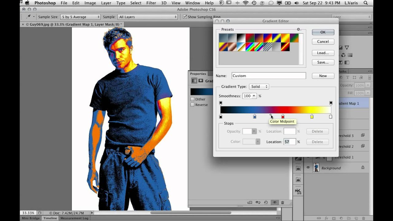 Analog Posterize Effect in Photoshop - www varis com